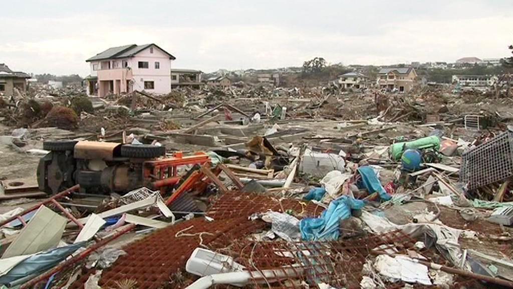 Išinomaki po katastrofě
