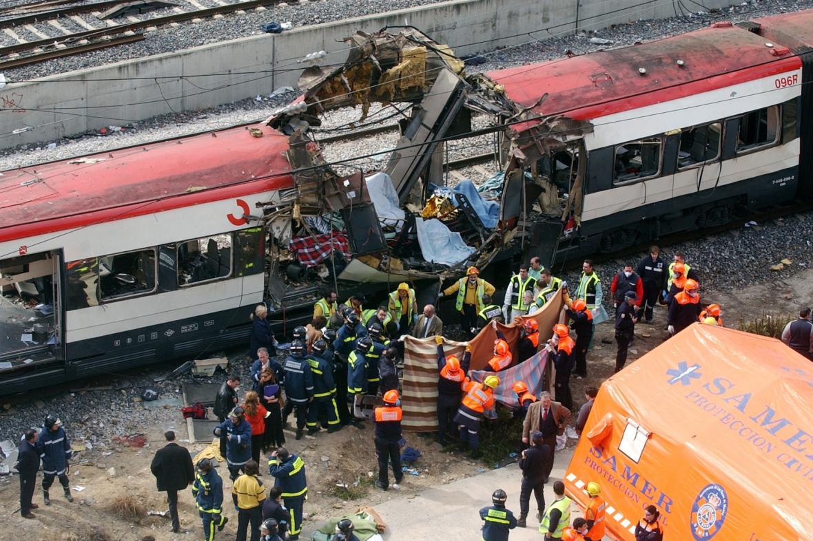 Teroristický útok na vlak v Madridu v roce 2014