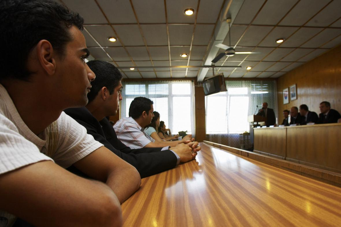 Romové na rekvalifikačním kurzu