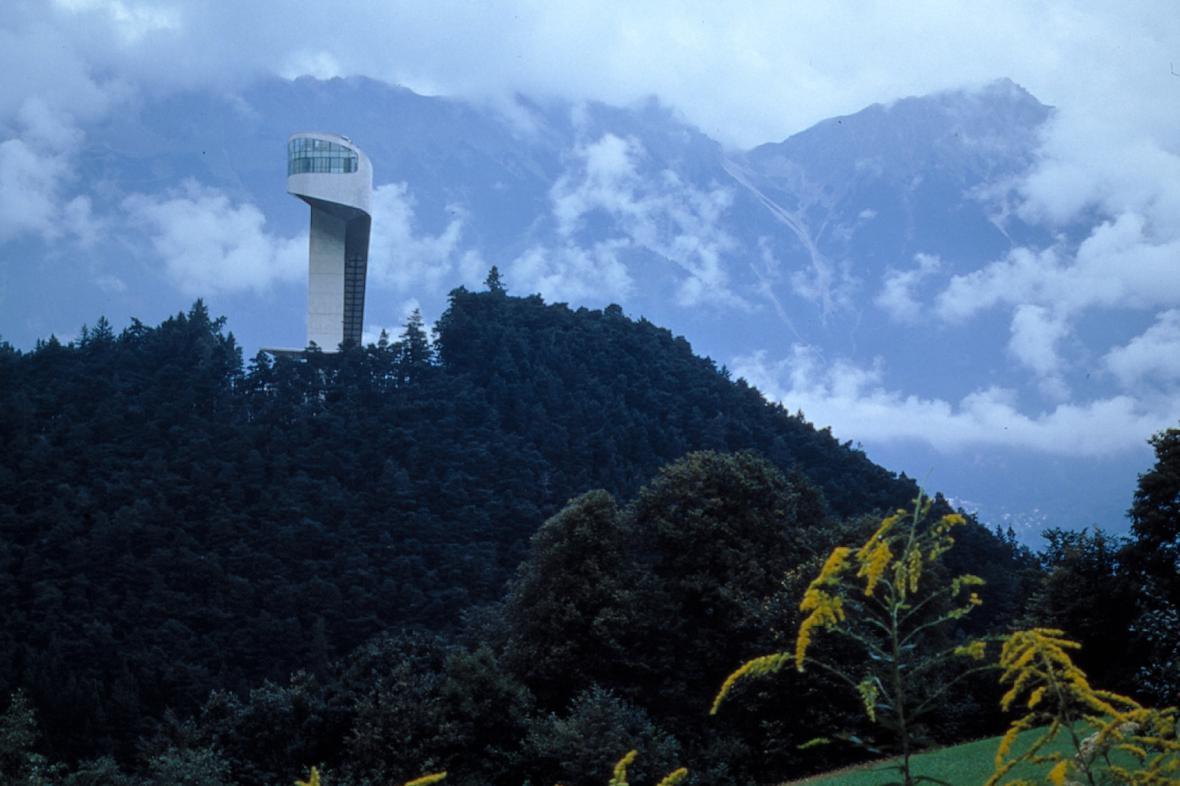 Skokanský můstek Bergisel v Innsbrucku