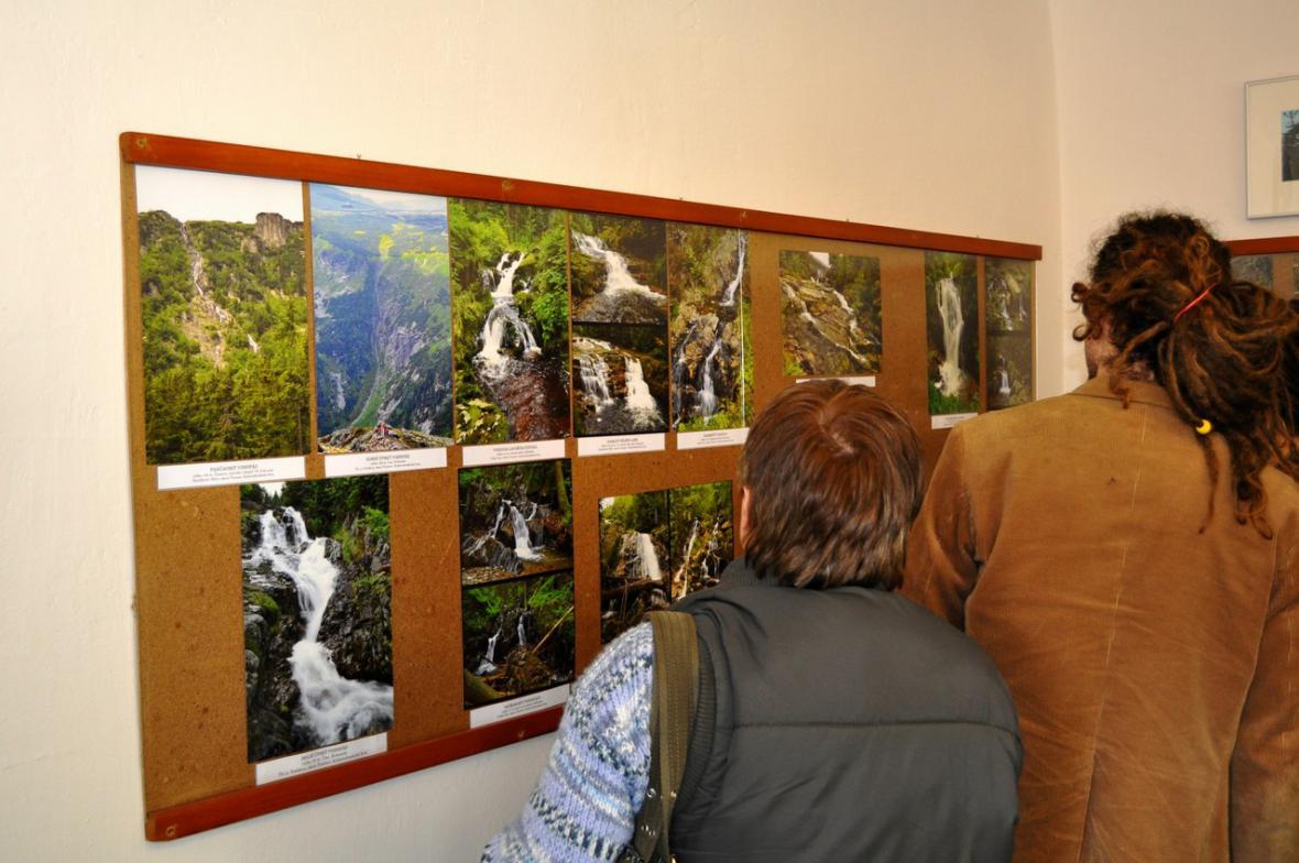 Výstava fotografií Josefa Sedláčka v Galerii u Plazíka