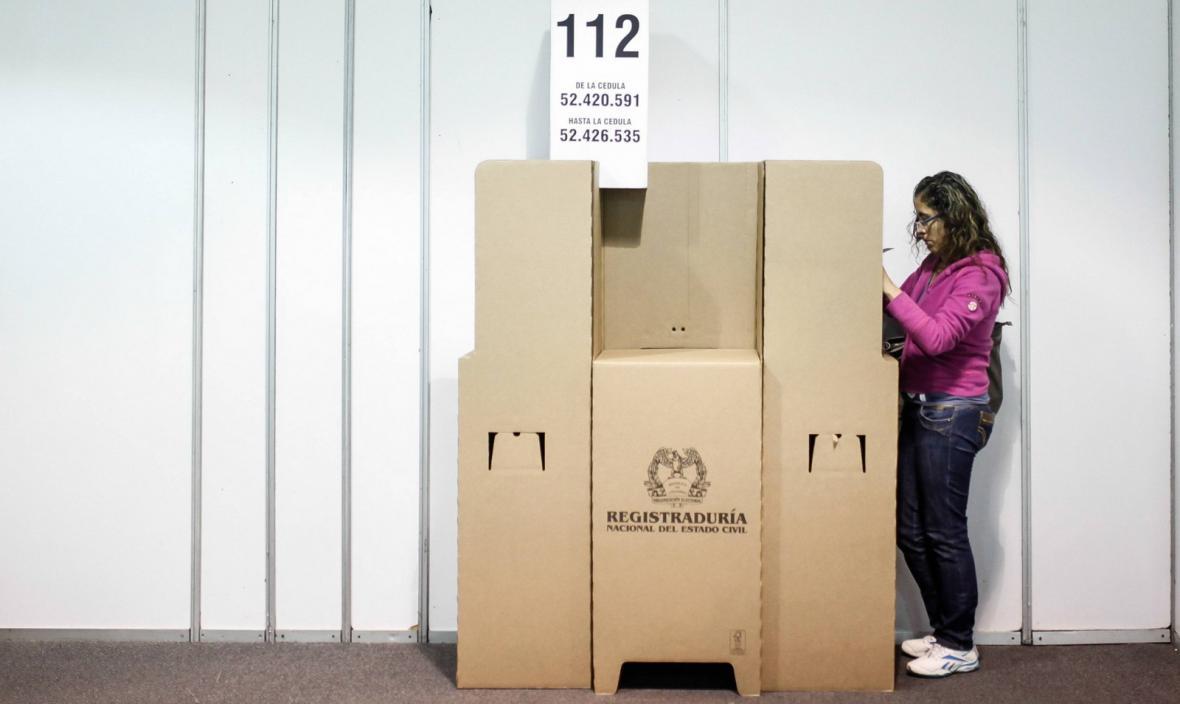 Parlamentní volby v Kolumbii