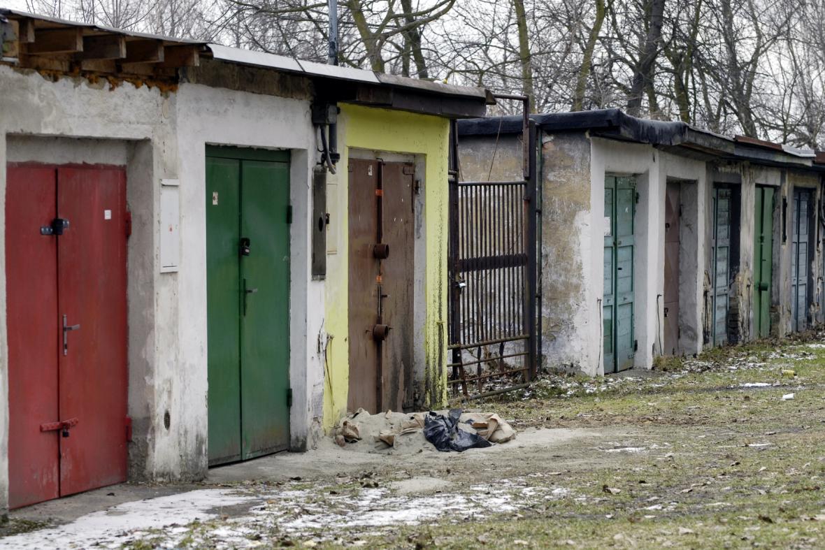 Garáže, kde zavraždili manžele z Bohumína