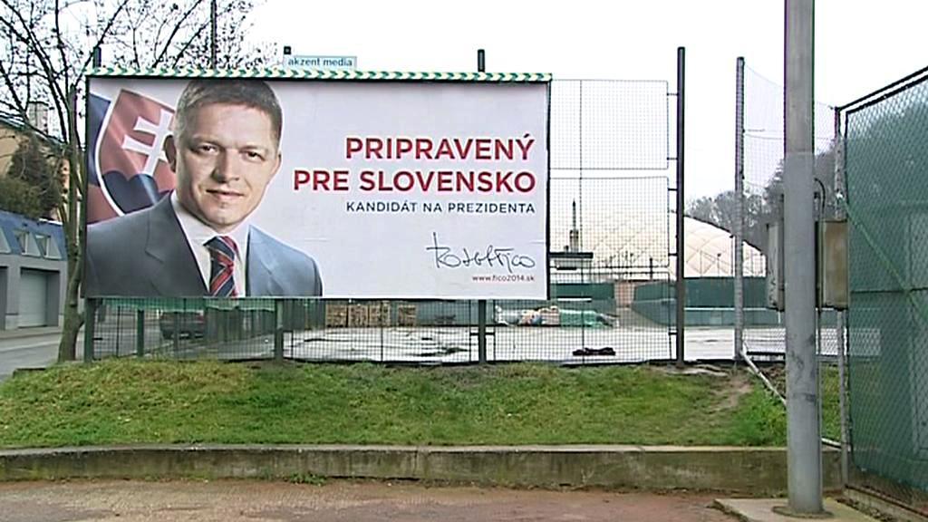 Ficova předvolební kampaň