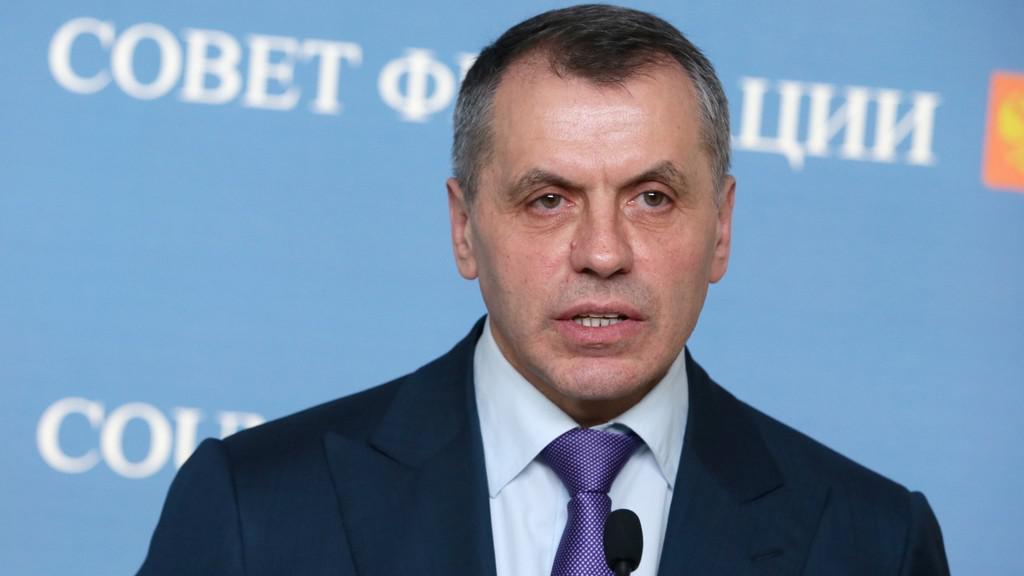 Vladimir Konstantinov, šéf krymského parlamentu