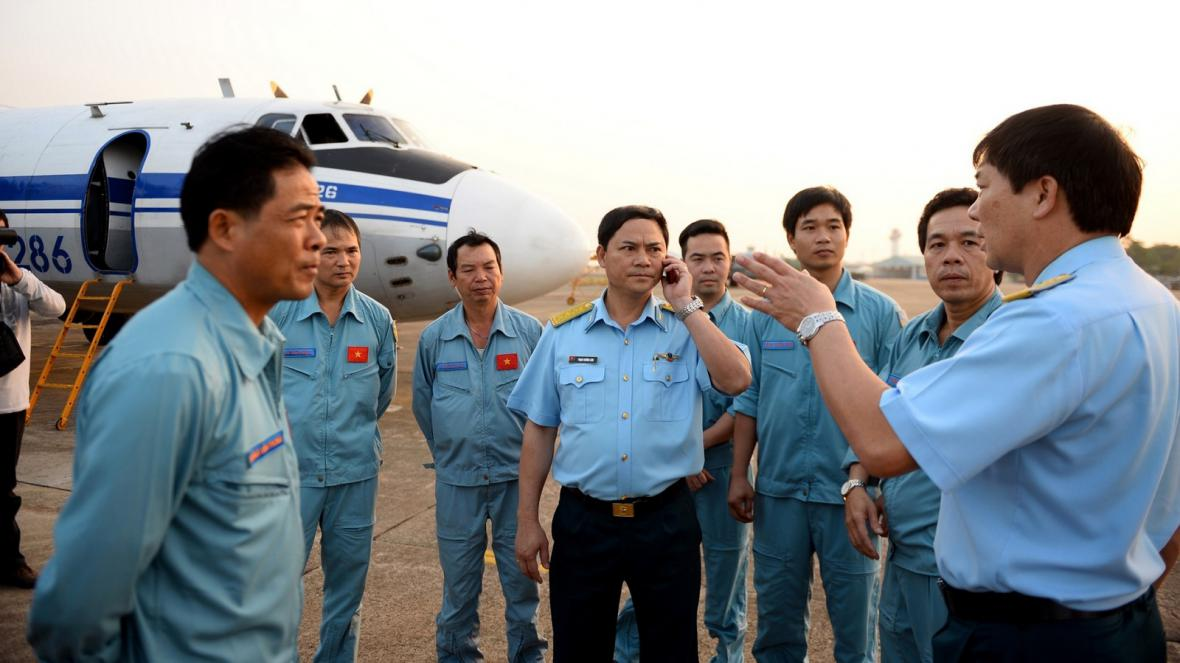 Pátrání po zmizelém malajsijském letadle v Jihočínském moři