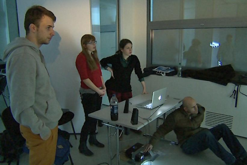 Ve Zlíně se koná videomappingový workshop