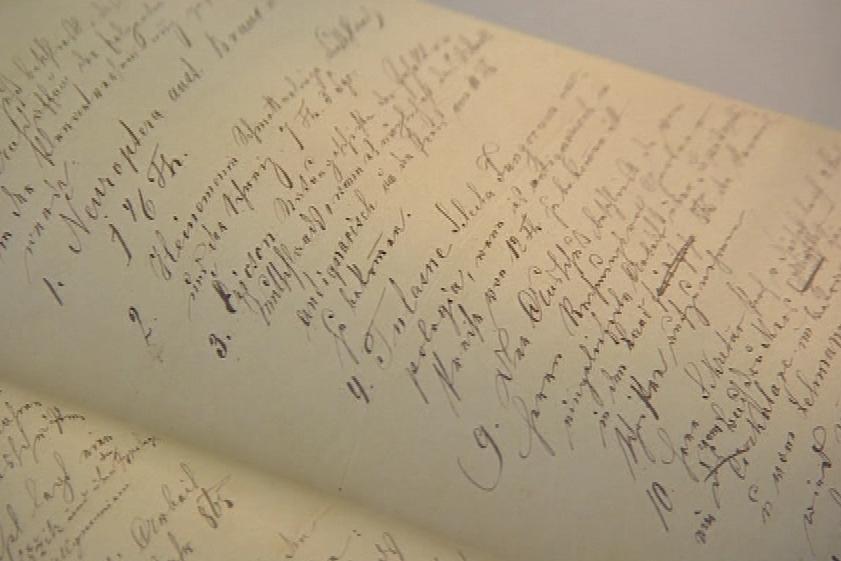 Mendelův rukopis