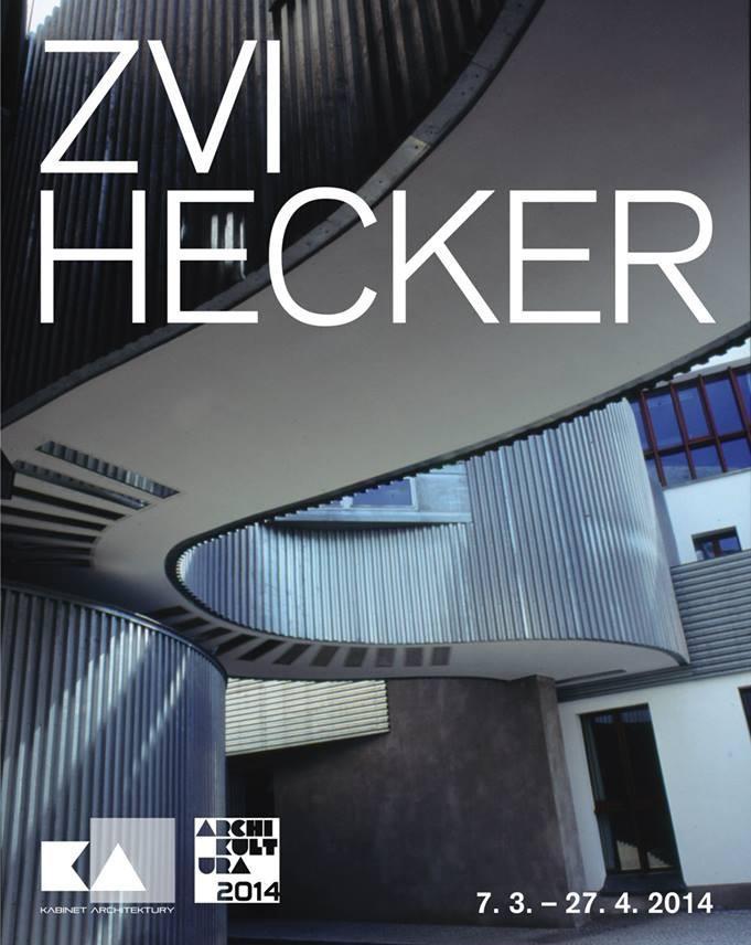 Plakát k výstavě Zvi Heckera