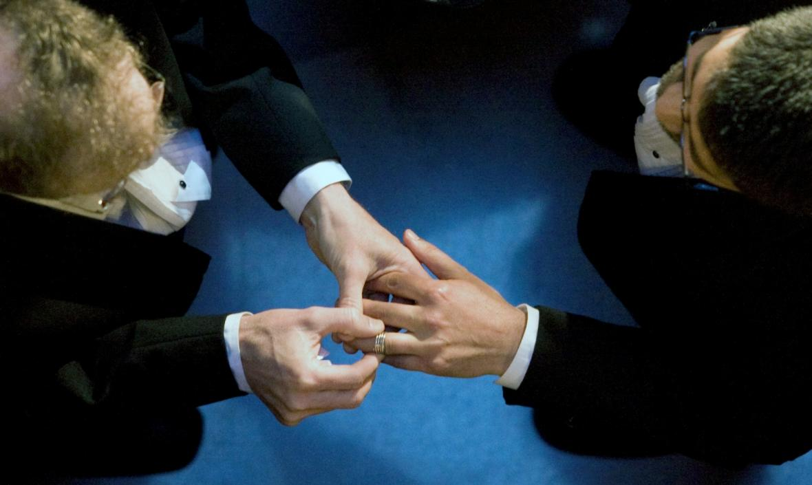 Svatba homosexuálů