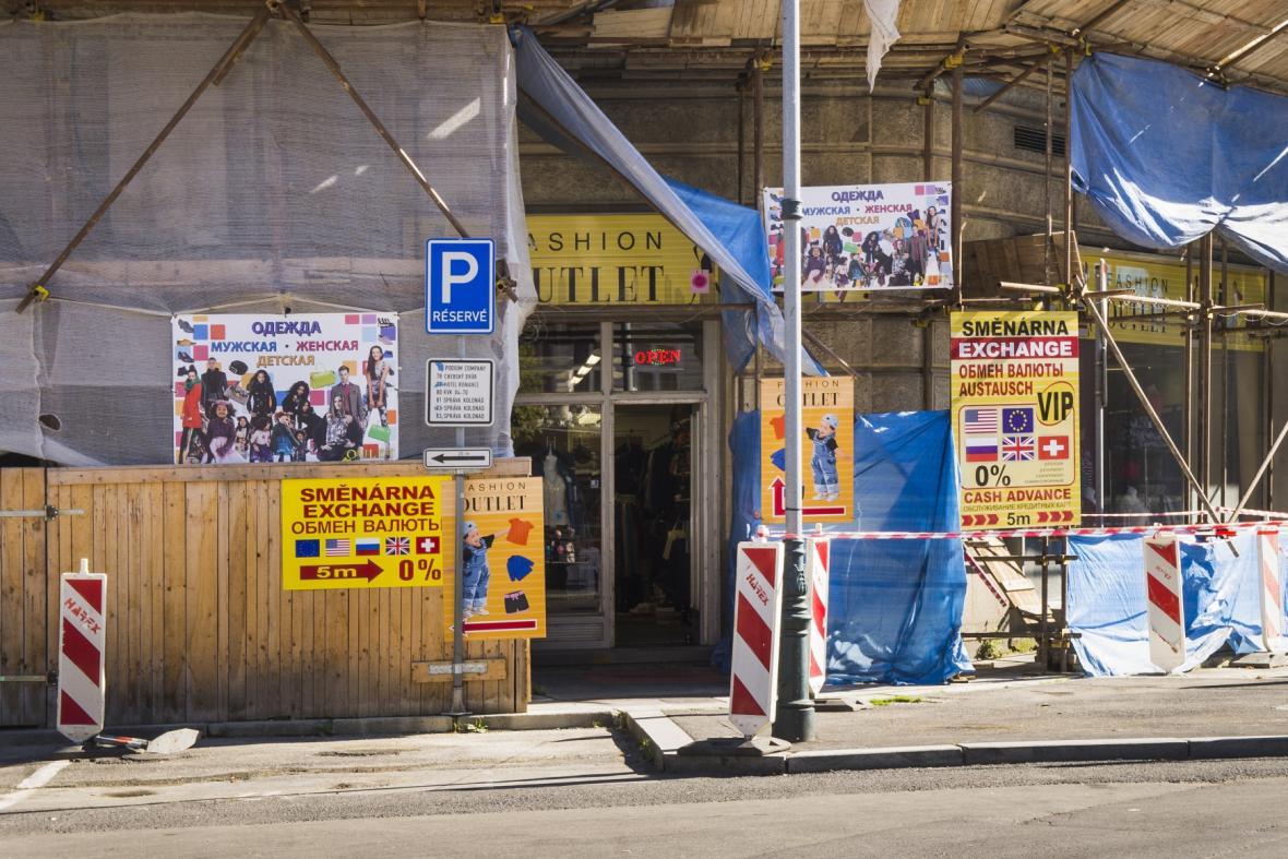 Ruský obchod v Karlových Varech