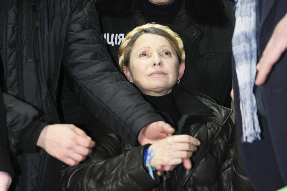 Expremiérka Julija Tymošenková