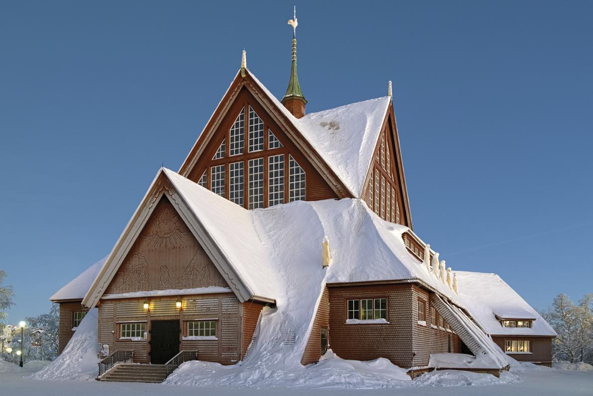 Kostel v Kiruně
