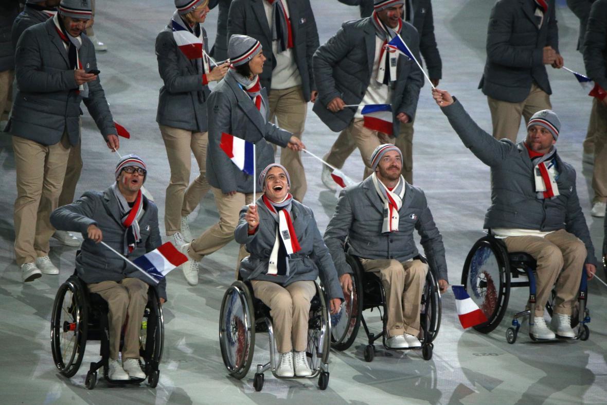 Zahajovací ceremoniál paralympiády v Soči