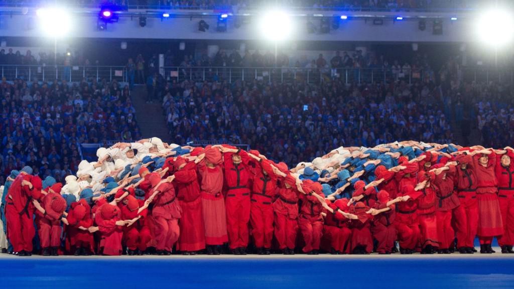 Zahajovací ceremoniál paralympijských her 2014