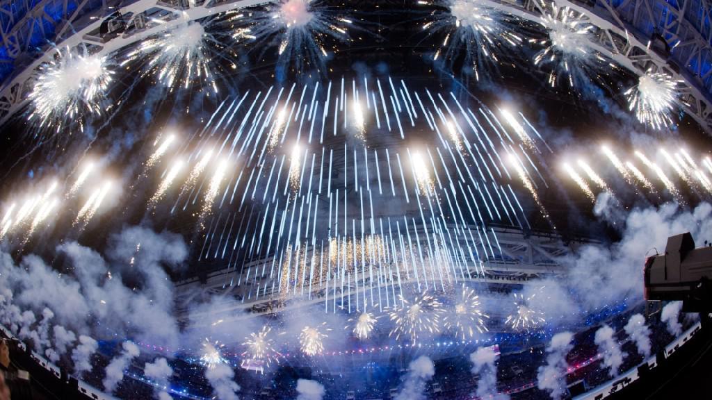 Zahajovací ceremoniál zimní paralympiády v Soči