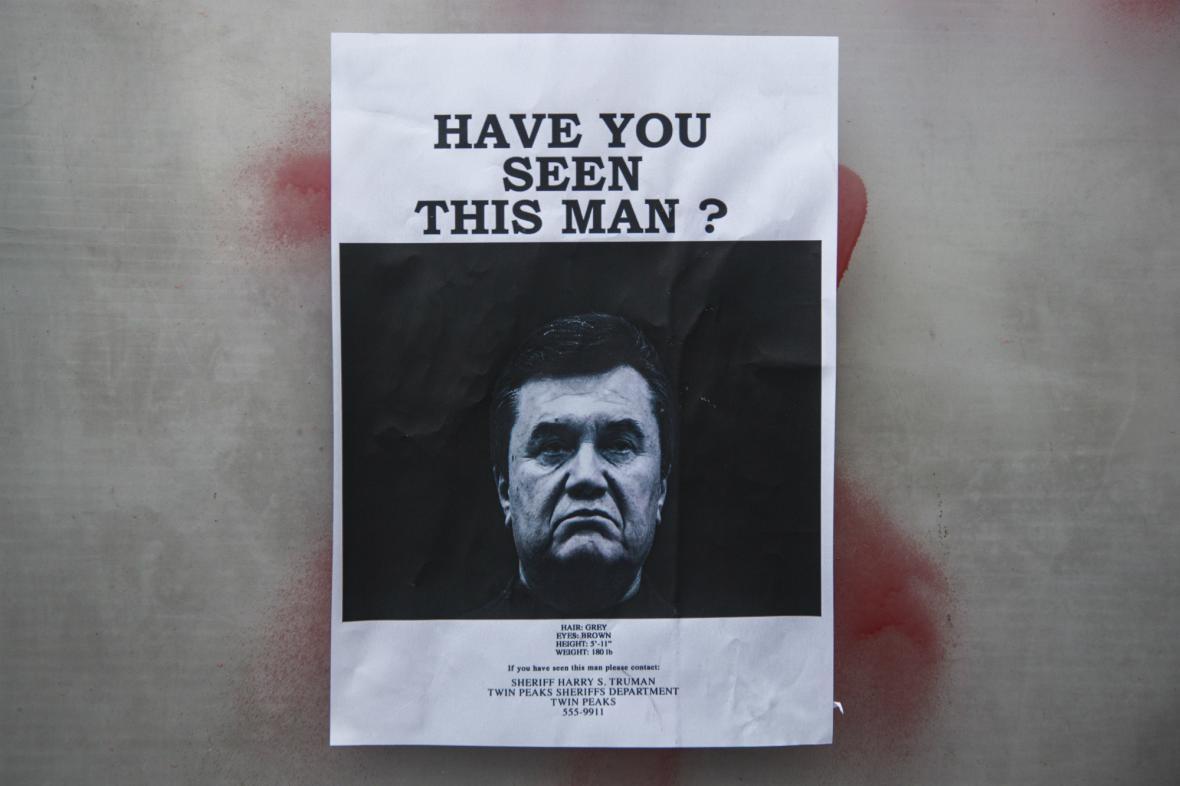 Ukrajina požádala o vydání Janukovyče
