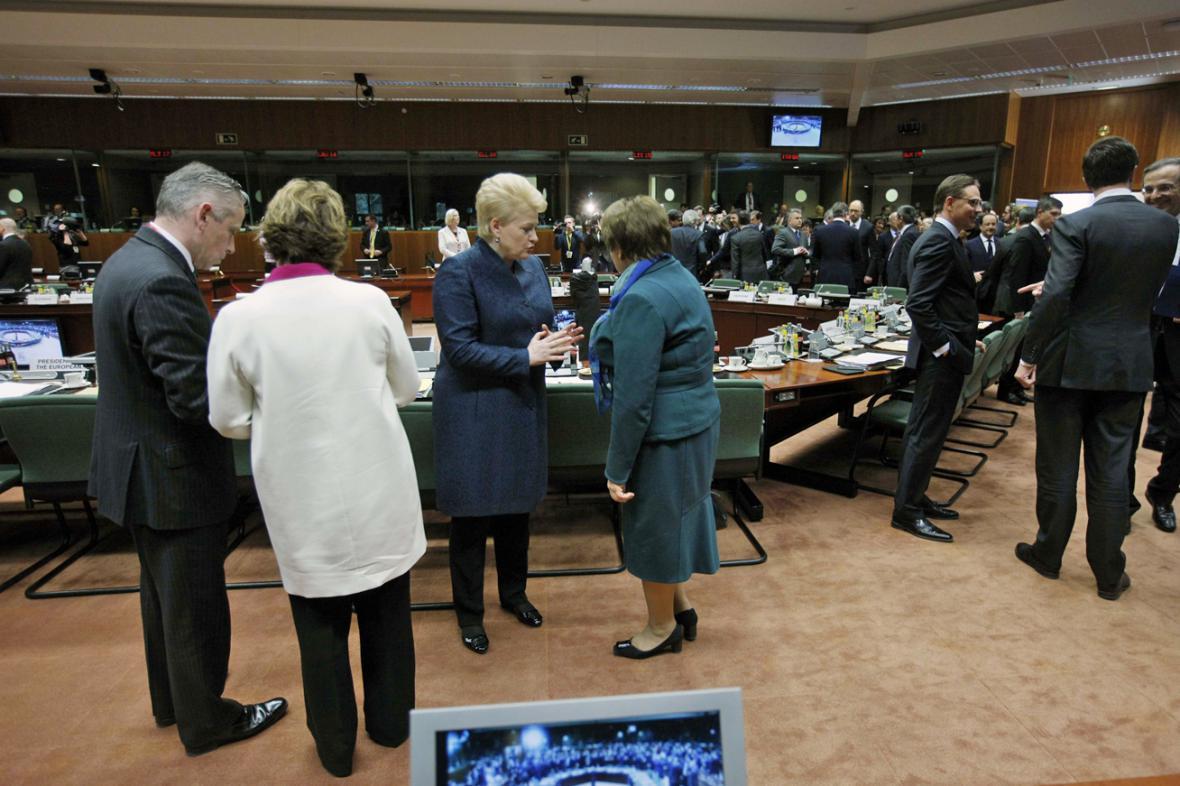 Mimořádný summit EU k Ukrajině