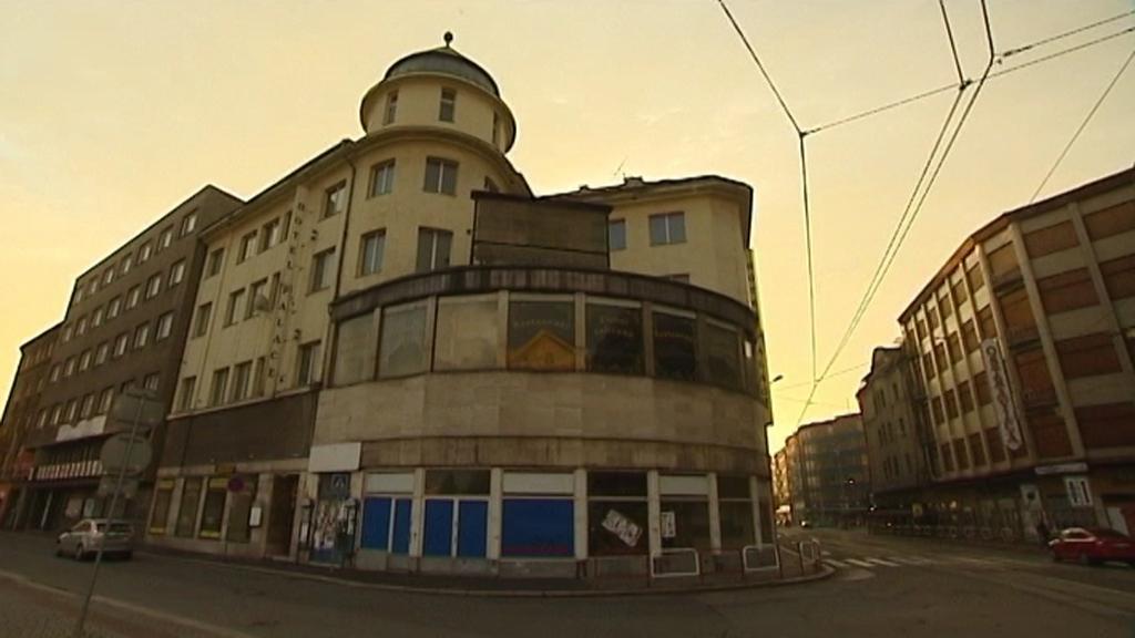 Hotelu Palace v centru Ostravy