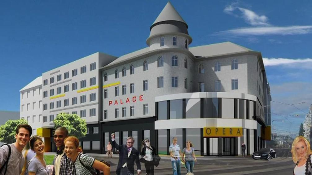 Projekt přestavby hotelu Palace