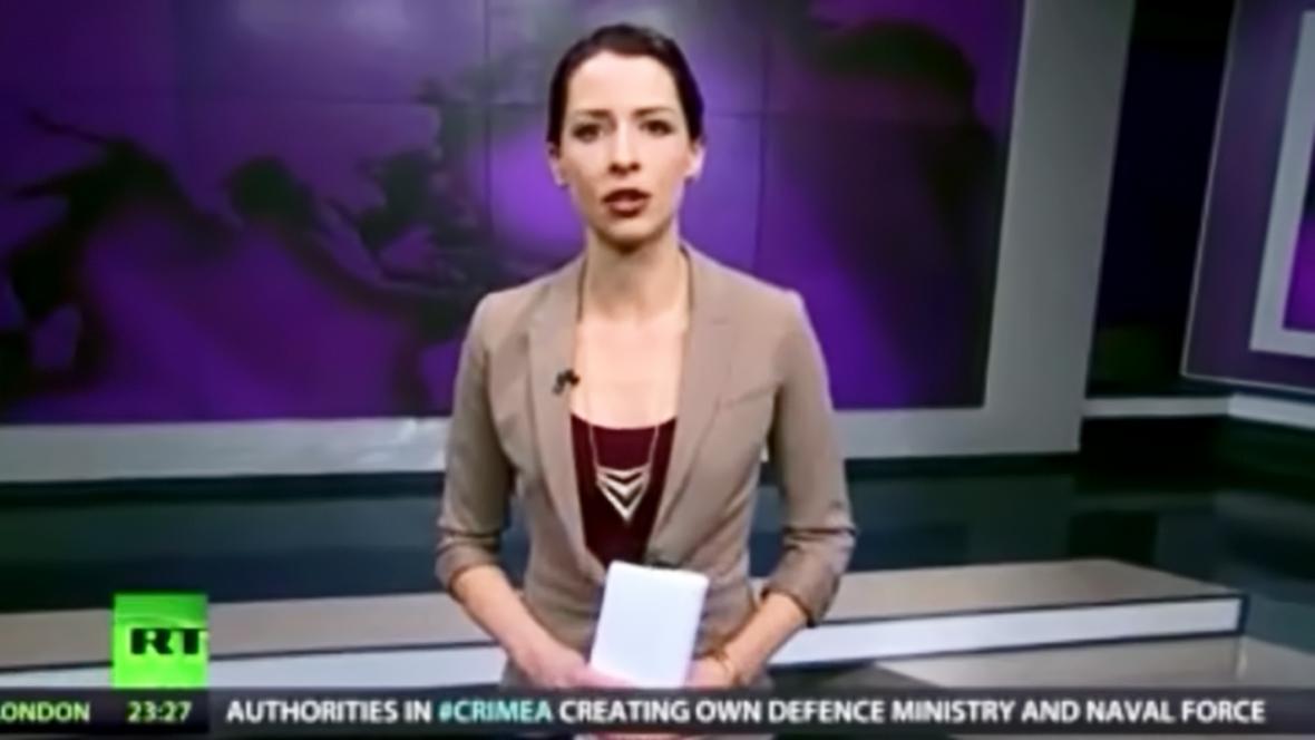 Abby Martinová při svém nečekaném vyjádření k ukrajinské krizi