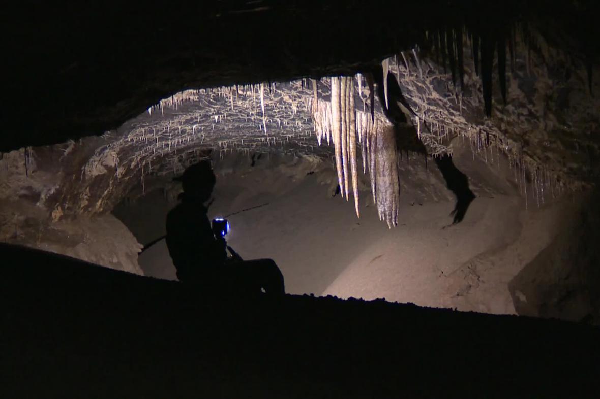 Speleologové objevili nové podzemní prostory