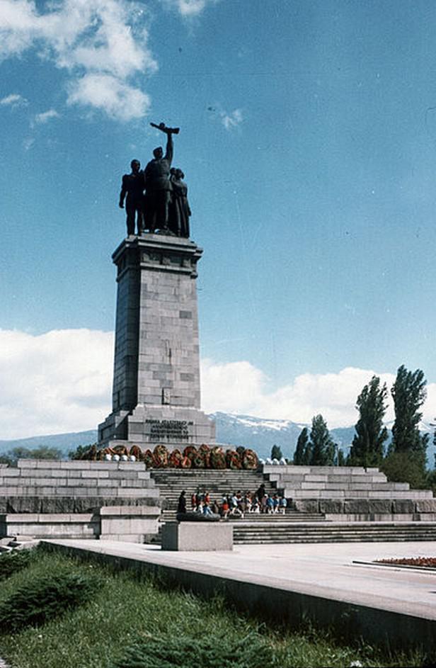 Památník Rudé armády v Sofii