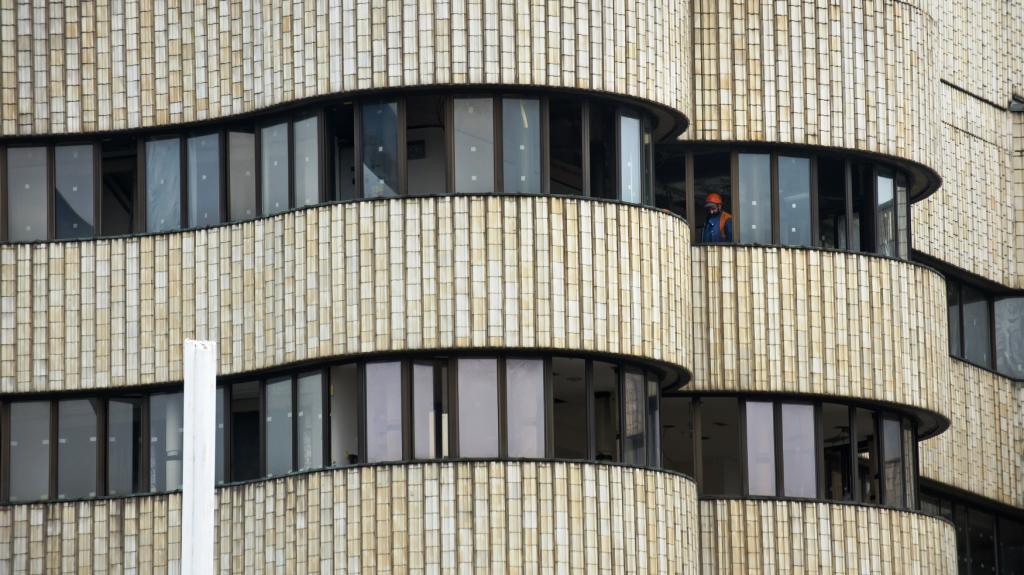 Demolice hotelu Praha