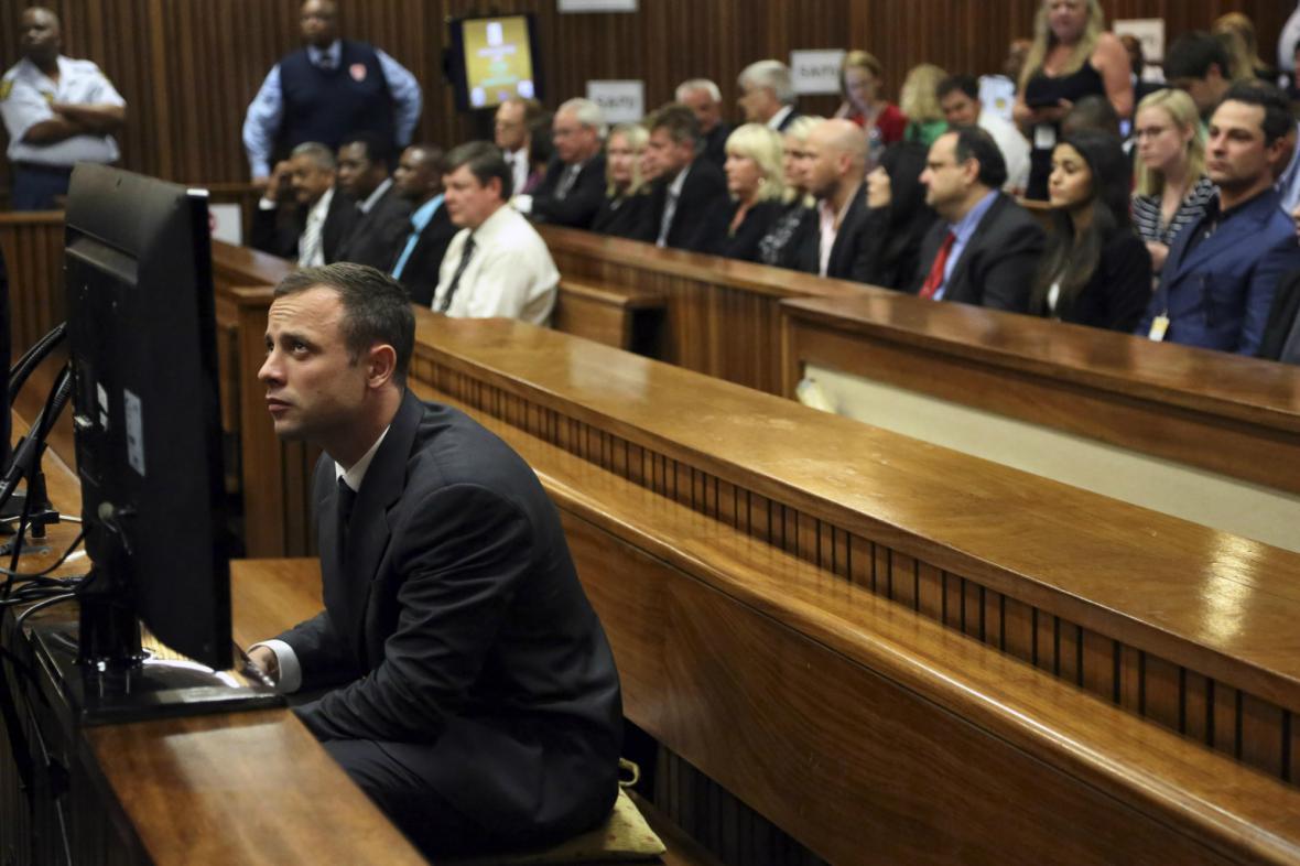 Oscar Pistorius před soudem