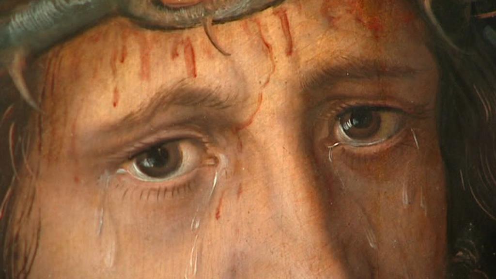 Lucas Cranach / Kristus Trpitel (detail)