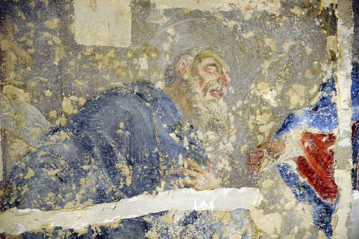 Freska v Místodržitelském paláci v Brně
