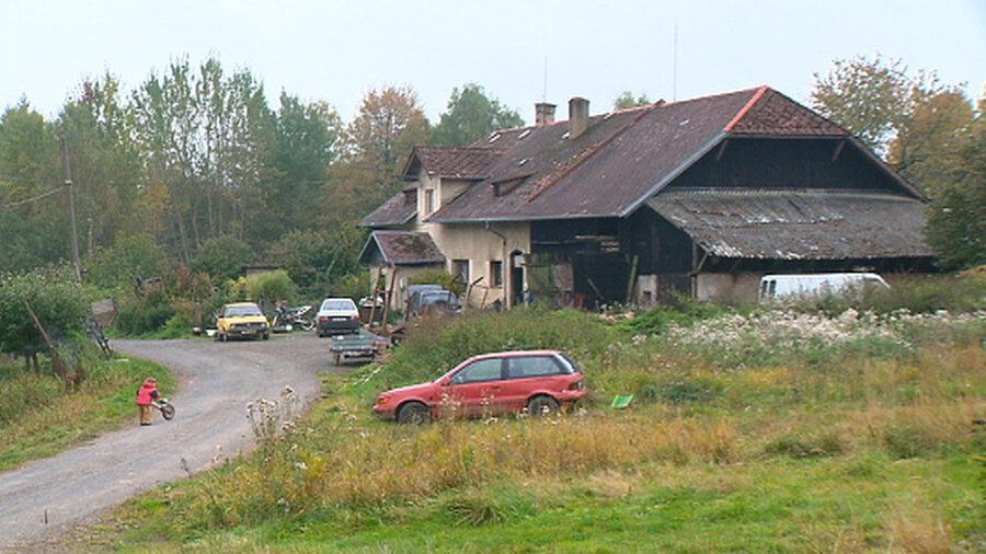 Bývalá úřadovna StB v obci Tři Sekery