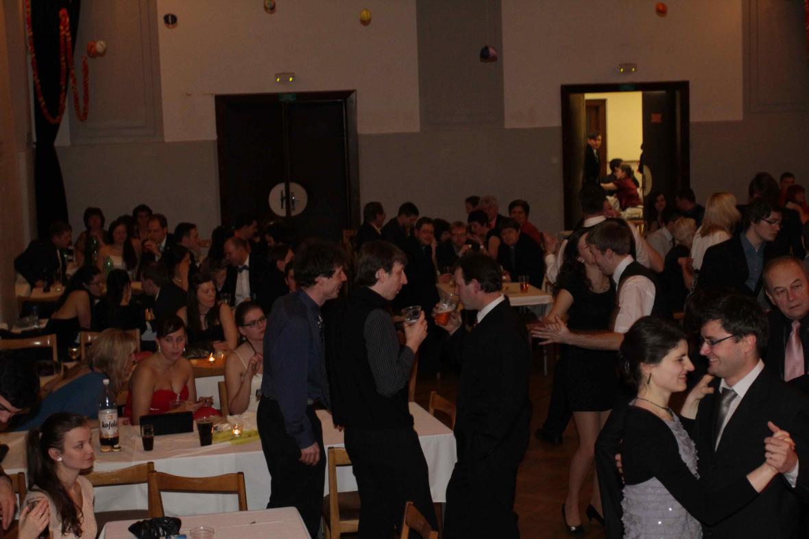 Z děkanátního plesu v Kopřivnici