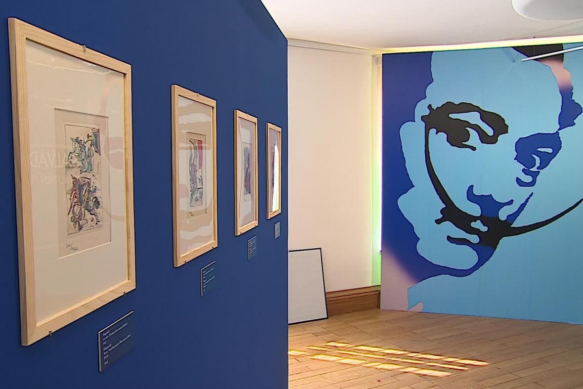 Brněnská výstava Salvadora Dalího