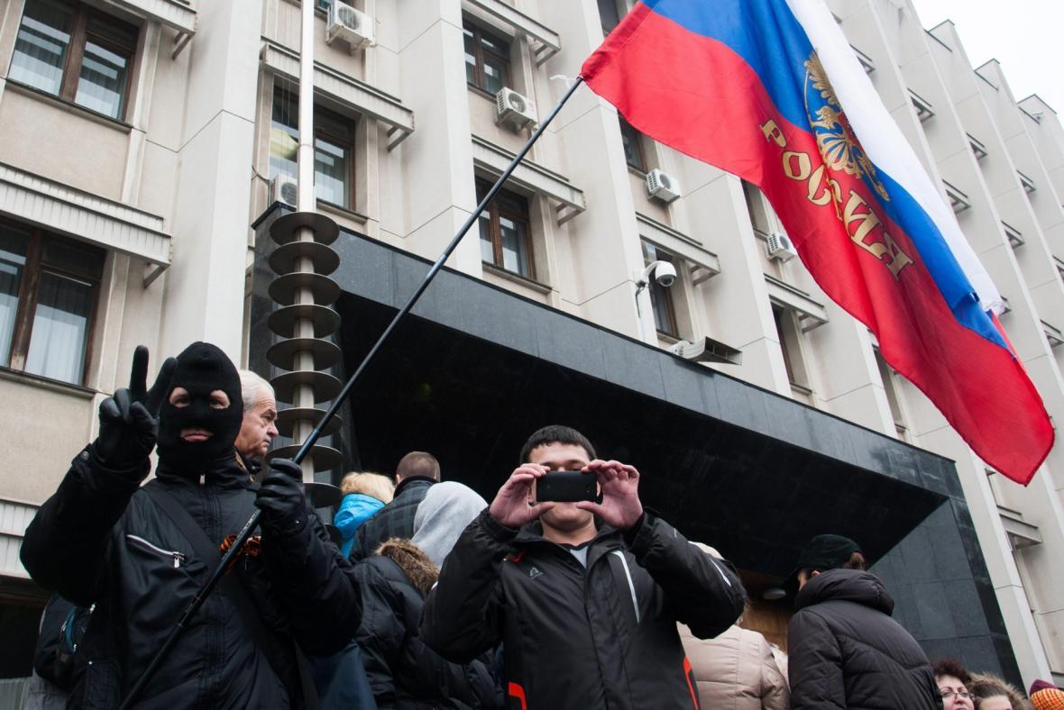 Proruské protesty v Oděse
