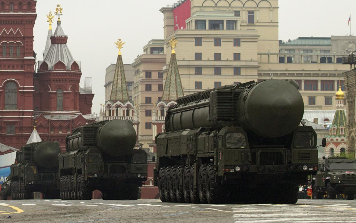 Ruské mezikontinentální balistické rakety Topol-M
