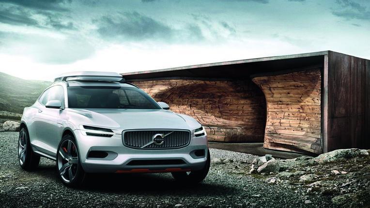 Volvo Concept XC Coupé na své evropské premiéře