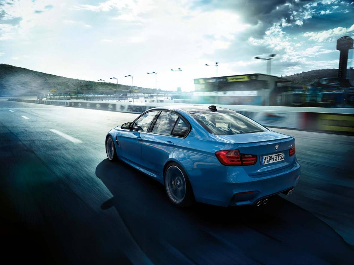 BMW M3 Sedan se představil na evropské premiéře