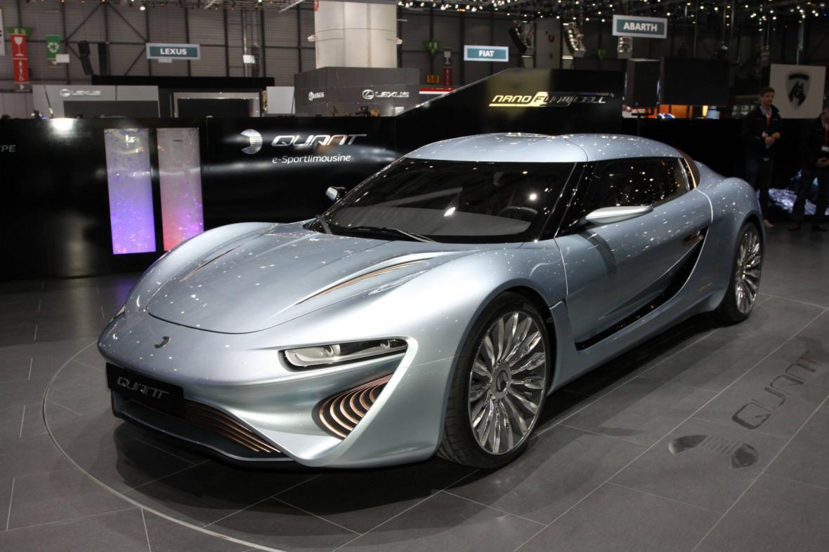 Nano Flowcell Quant Elektroauto e-Sportlimousine