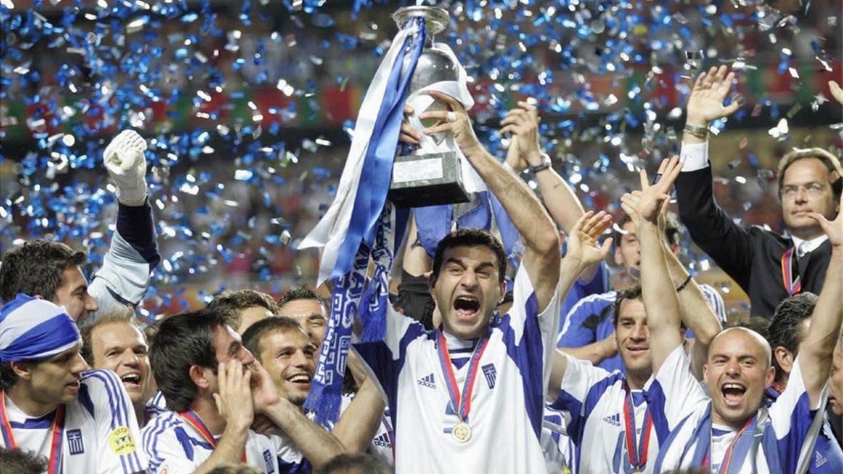 Radost Řeků na Euru 2004