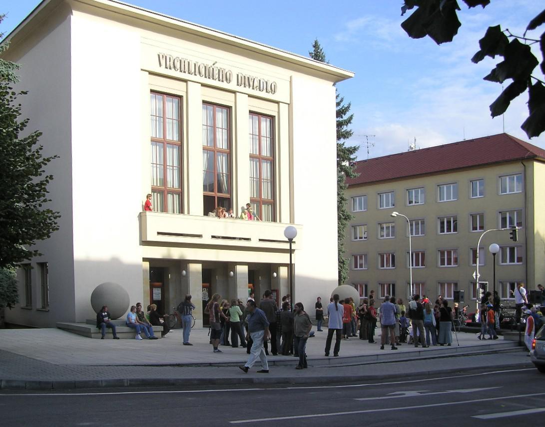 Vrchlického divadlo Louny