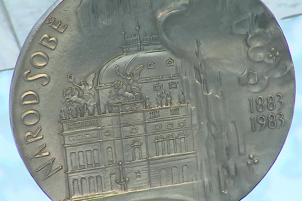 Pamětní medaile připomíná historické události