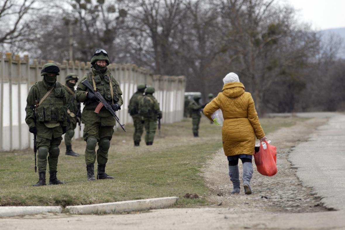Ozbrojené jednotky na Krymu