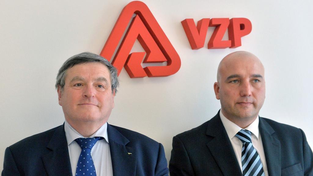 Jiří Běhounek (vlevo) jako nový  šéf správní rady VZP
