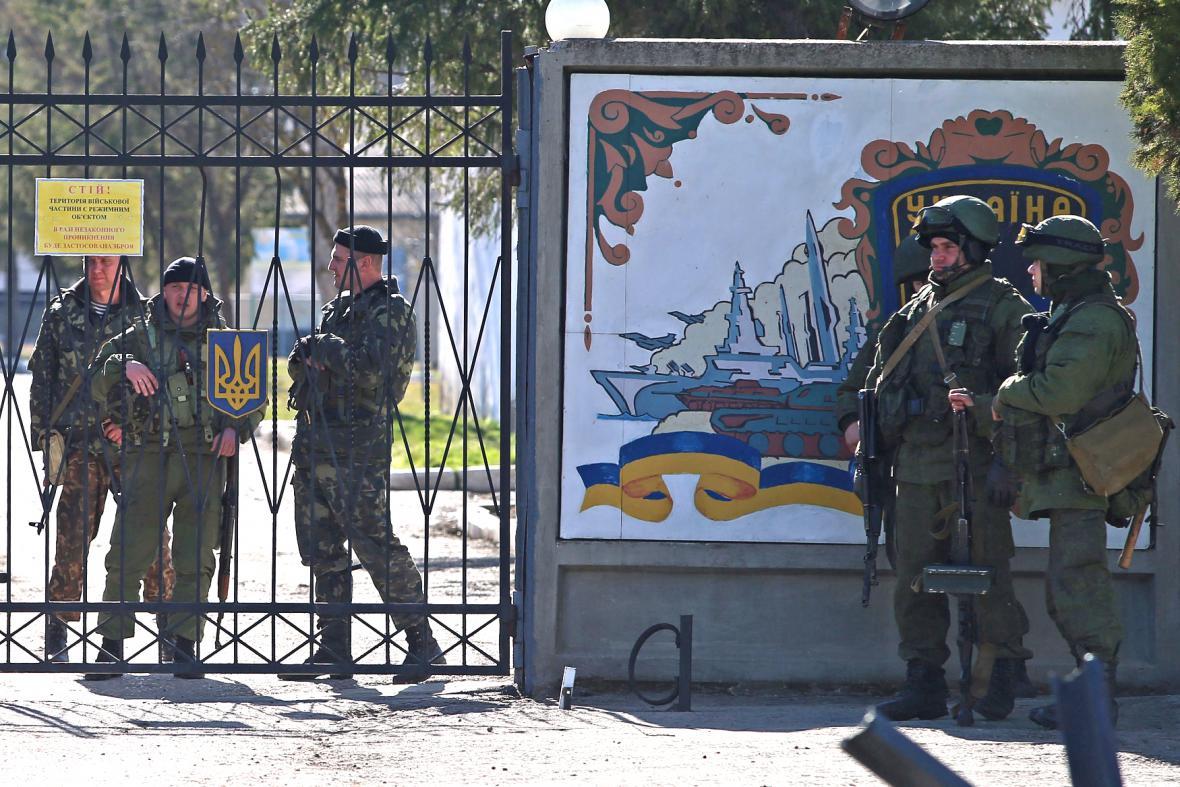 Ukrajinská námořní základna na Krymu