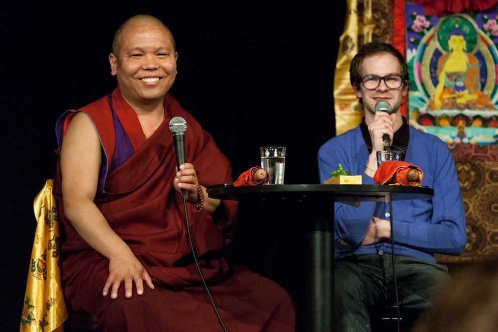 Tibetský lama Geše Ňima Özer
