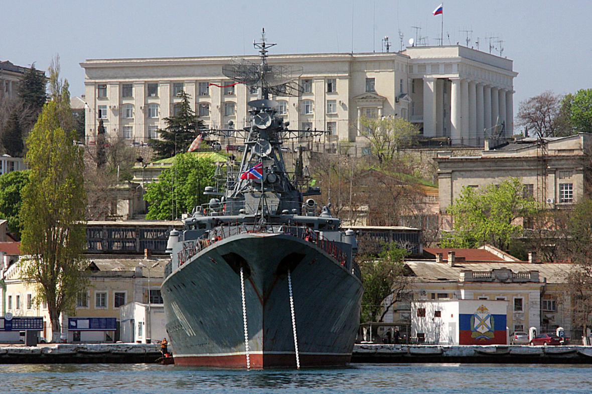 Ruská černomořská flotila