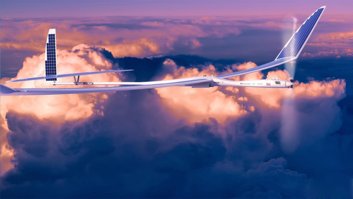 Bezpilotní letoun Titan Aerospace Solara