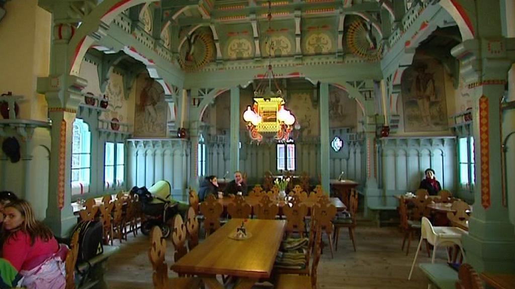 Restaurace na Pustevnách