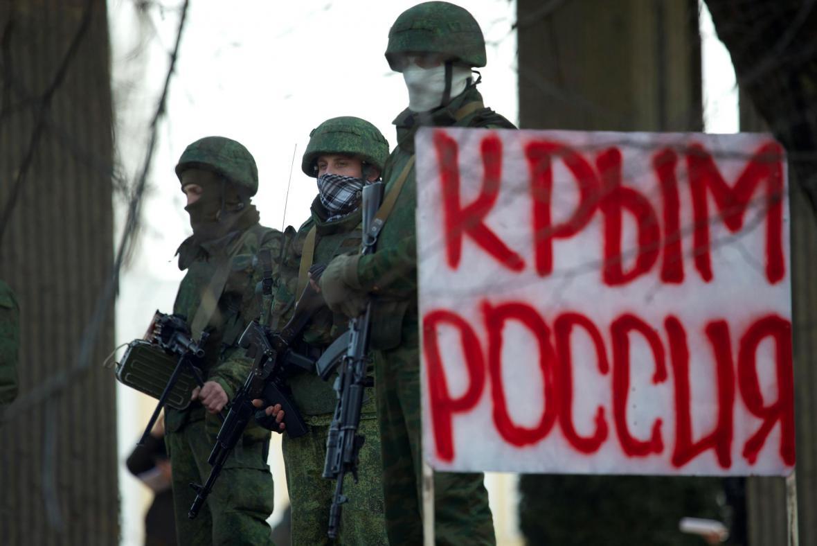 Ozbrojenci na Krymu